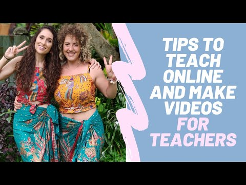 Tips for Teaching Online and Making Videos - Teacher Edition!