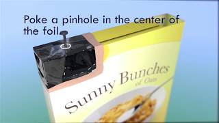 Make a Cereal Box Projector to View the Solar Eclipse | Video
