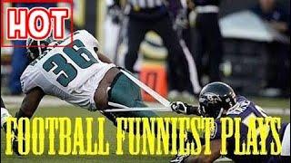 Football Funniest Plays and FAILS- NFL NCAA  - HD