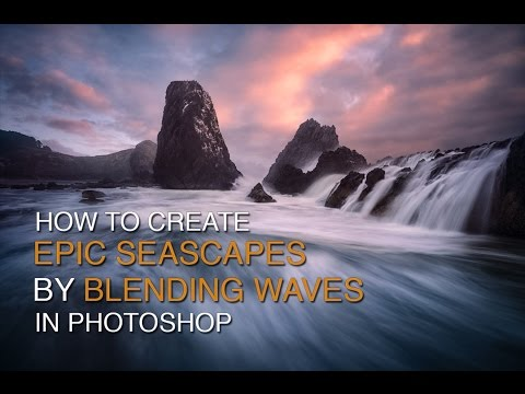 How to Create Epic Seascapes in Photoshop by Blending Waves