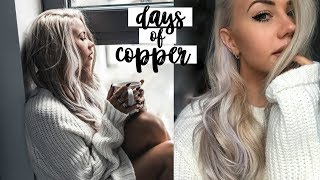 My Hair Is.. BLONDE!? | Days Of Copper | Copper Garden