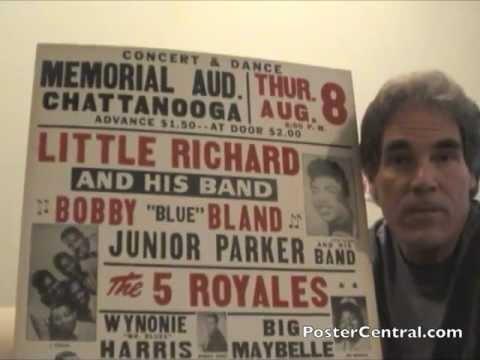 Little Richard Concert Posters 1950s Window Cards Pt. 2