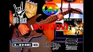 Bon Jovi - Runaway - Guitar cover by Nono