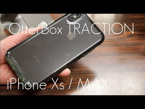 low priced fb996 bd5d6 OtterBox TRACTION Case - iPhone XS / MAX - Hands On Review