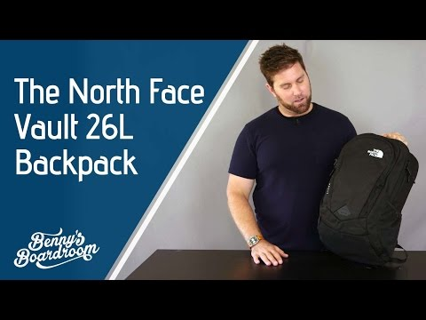 ec0ee9a08 The North Face Vault Backpack Walkthrough - Benny's Boardroom - YouTube