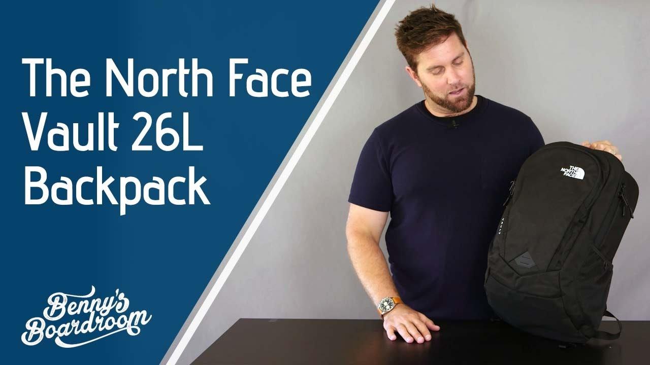 4a7ba33e7 The North Face Vault Backpack Walkthrough - Benny's Boardroom