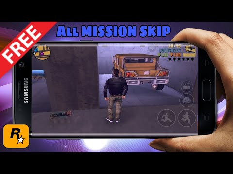 How to Skip GTA 3 All Missions in Android || Androidgaming ||