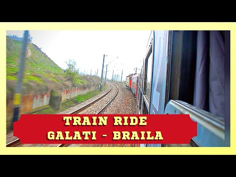 Train Trip Galati-Braila
