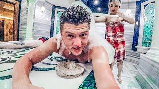 Турецкая баня. В хамам без трусов. Массаж для мужчин. Аланья, Турция 2019