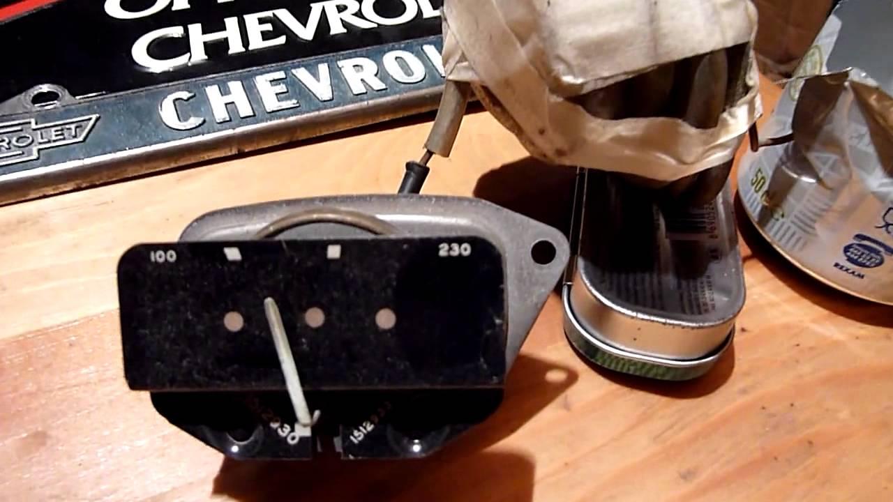 1955 Chevy Temp Gauge Bench Test Youtube Fuel Wiring