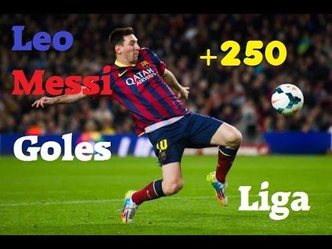 Goles increibles de Lio Messi