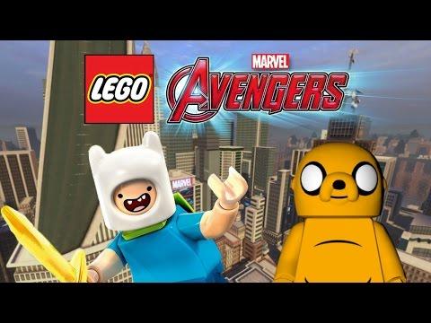 Creating Finn and Jake! | LEGO Marvel's Avengers Customs