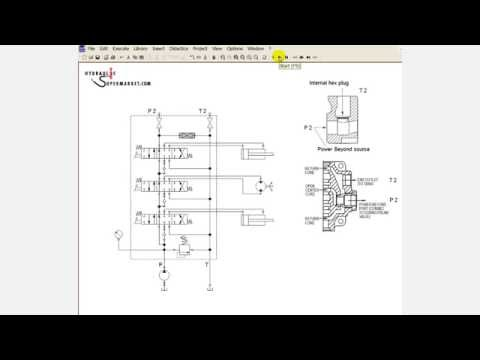 How to Use the Power Beyond Facility in a Hydraulic Directional Control Valve (with improved audio)