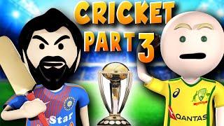 3D ANIM COMEDY - CRICKET WORLD CUP SERIES || LAST OVER || INDIA VS AUSTRALIA