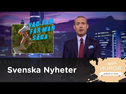 Vad fan får man säga?  - Svenska nyheter