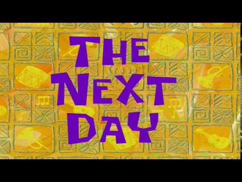 The Next Day | SpongeBob Time Card #47