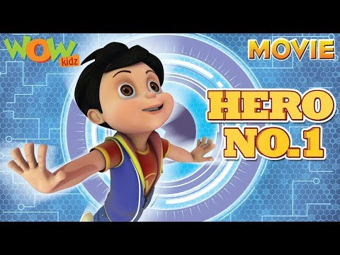HERO No.1 | Vir The Robot Boy | Action Movie | ENGLISH, SPANISH & FRENCH SUBTITLES | WowKidz