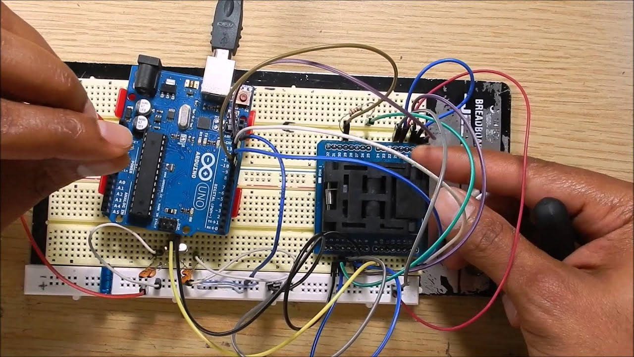 How To Burn An Arduino Uno Bootloader A New Atmega328p Au Chip R3 16u2 Dip Usb Cable Programming