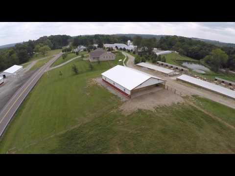 Drone Over Horse Barn thumbnail