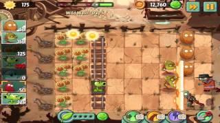 Plants vs Zombies 2: Wild West Day 5 Walkthrough