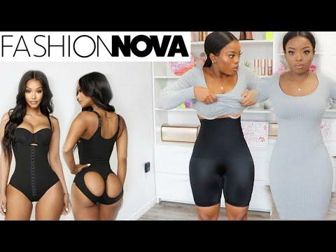 Trying SHAPEWEAR from FASHIONNOVA | Tummy Control & Butt lifting Shapewear Try on Haul