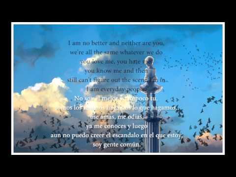 Everyday People - Joan Jett (Subtitulos Español-Ingles)