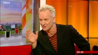 Sting interview + music from The Last Ship with Richard Fleeshman - The Night the Pugilist... Shaggy