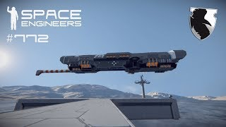 INTO THE ATMOSPHERE & ANOTHER CRANE SCRIPT :: Space Engineers Survival :: Ep. 772
