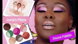 NEW JUVIA'S PLACE DOUCE EYESHADOW PALETTE | REVIEW & TUTORIAL | Fumi Desalu-Vold