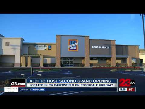ALDI grocery store location opens in Bakersfield
