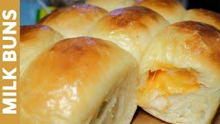 MILK BUN | Soft and Fluffy | Cheesy | Homemade