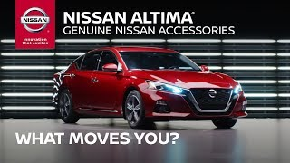 2019 Nissan Altima Accessory Options | What Moves You