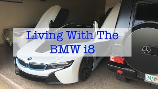 living with the bmw i8