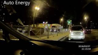 Смотреть видео Авария ДТП СПБ  Большевиков и Крыленко онлайн