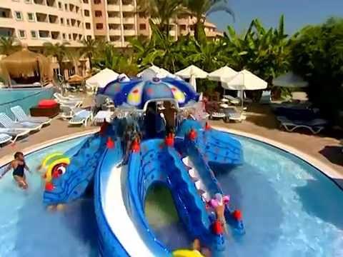 Long Beach Resort & Spa 5* - Török Riviéra - Alanya - YouTube