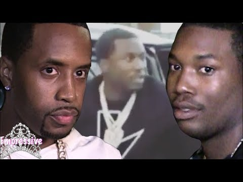 Safaree gets jumped by Meek Mill's team! LIVE FOOTAGE INCLUDED