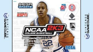 GameCube - NCAA College Basketball 2K3