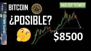 Bitcoin ¿$8500?   Btc/Criptomonedas TRADING ANÁLISIS/NOTICIAS