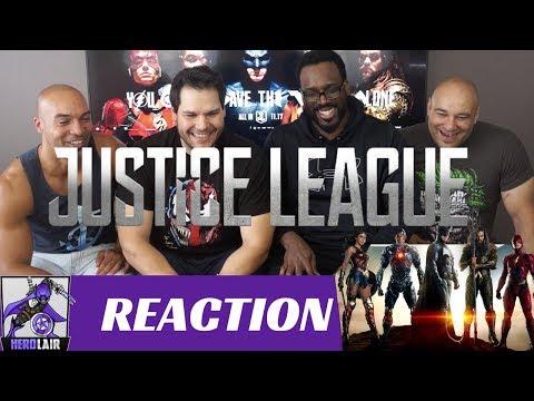 JUSTICE LEAGUE Comic Con Sneak Peek Trailer REACTION