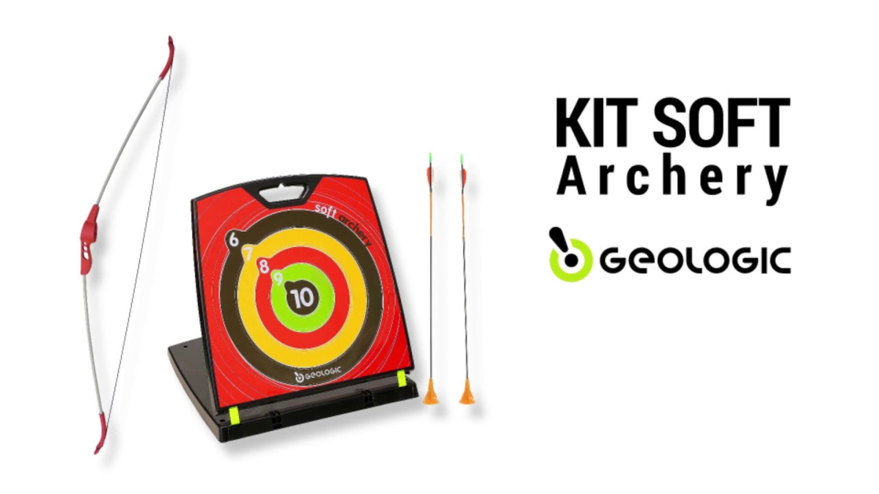 bac338992 Kit de arco e flecha Softarchery Geologic - Exclusividade Decathlon ...