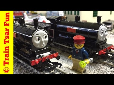 Donald & Douglas Bachmann Steamies and a Race! Thomas & Friends Trains