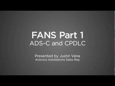ADS-C & CPDLC (FANS pt 1)