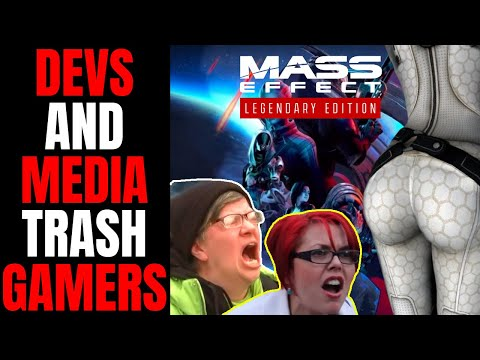 Media And Game Devs Trash Gamers Over Mass Effect Legendary Edition Censorship From Bioware |