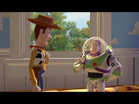 Woody incontra Buzz Lightyear per la prima volta - Toy Story [ITA]
