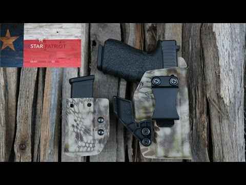 Priority 1 Holsters: IWB Holster with Concealment Wing for Glock 19