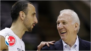 Manu Ginobili memories: Gregg Popovich, Steve Kerr, more Spurs share best moments | NBA on ESPN