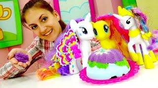 Игры для девочек: Литл пони Селестия и праздничный стол