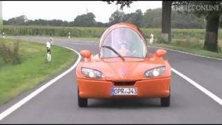 Jetcar: Das Highspeed-Elektroauto - SPIEGEL TV