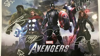 Marvel avengers videogame 2020 demo comic Con