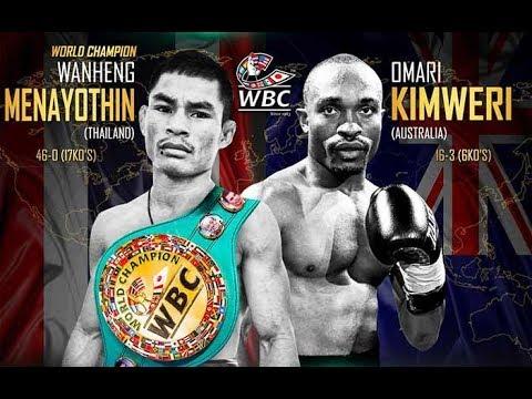 Wanheng Menayothin vs Omari Kimweri